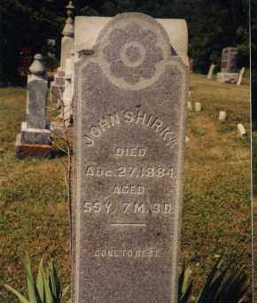 SHIRK, JR, JOHN - Union County, Ohio | JOHN SHIRK, JR - Ohio Gravestone Photos