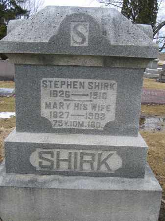 SHIRK, MARY - Union County, Ohio | MARY SHIRK - Ohio Gravestone Photos