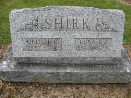 SHIRK, EDNA M. - Union County, Ohio | EDNA M. SHIRK - Ohio Gravestone Photos