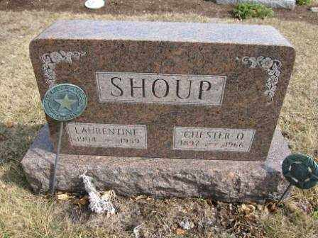 SHOUP, LAURENTINE - Union County, Ohio | LAURENTINE SHOUP - Ohio Gravestone Photos
