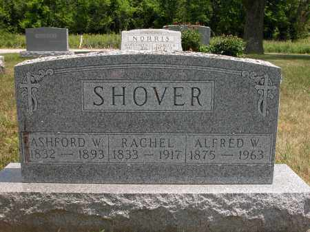 SHOVER, RACHEL - Union County, Ohio | RACHEL SHOVER - Ohio Gravestone Photos