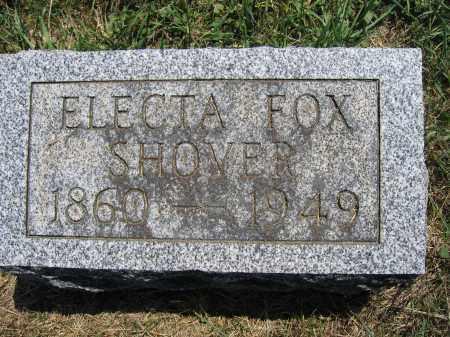 SHOVER, ELECTA FOX - Union County, Ohio | ELECTA FOX SHOVER - Ohio Gravestone Photos