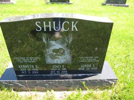 SHUCK, KENNETH E. - Union County, Ohio | KENNETH E. SHUCK - Ohio Gravestone Photos