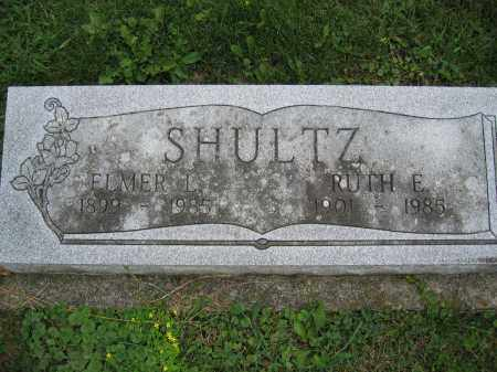 SHULTZ, RUTH E. - Union County, Ohio | RUTH E. SHULTZ - Ohio Gravestone Photos