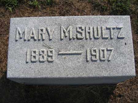 SHULTZ, MARY M. - Union County, Ohio | MARY M. SHULTZ - Ohio Gravestone Photos