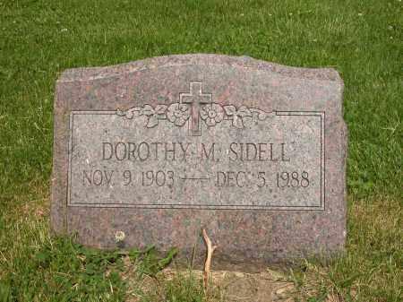 SIDELL, DOROTHY M. - Union County, Ohio | DOROTHY M. SIDELL - Ohio Gravestone Photos