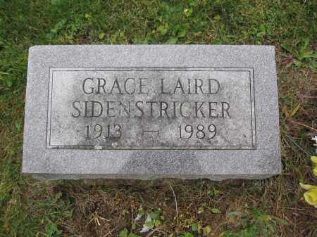 SIDENSTRICKER, GRACE LAIRD - Union County, Ohio | GRACE LAIRD SIDENSTRICKER - Ohio Gravestone Photos