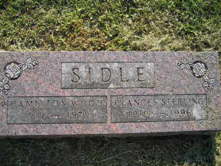 SIDLE, FRANCES STERLING - Union County, Ohio | FRANCES STERLING SIDLE - Ohio Gravestone Photos