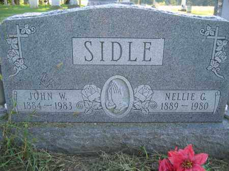 SIDLE, JOHN W. - Union County, Ohio | JOHN W. SIDLE - Ohio Gravestone Photos