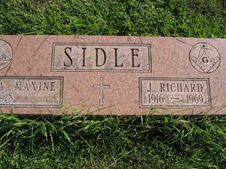 SIDLE, A. MAXINE - Union County, Ohio | A. MAXINE SIDLE - Ohio Gravestone Photos