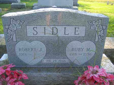 SIDLE, ROBERT J. - Union County, Ohio | ROBERT J. SIDLE - Ohio Gravestone Photos