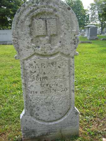 SIDLE, SARAH J. - Union County, Ohio | SARAH J. SIDLE - Ohio Gravestone Photos
