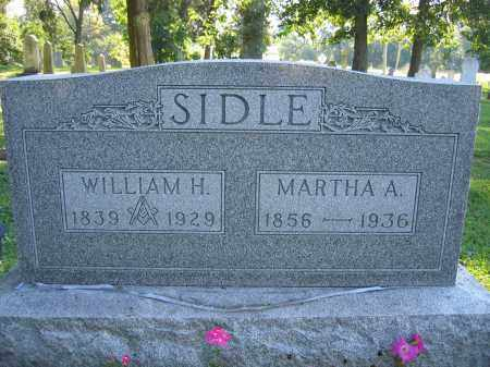 SIDLE, MARTHA A. - Union County, Ohio | MARTHA A. SIDLE - Ohio Gravestone Photos