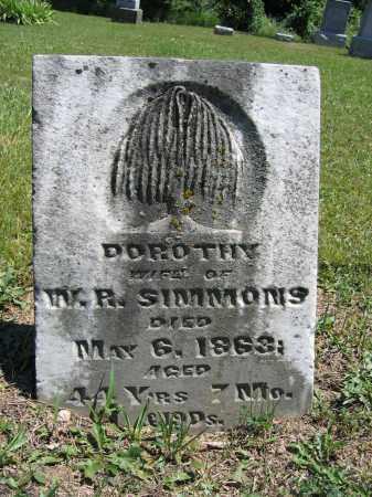 SIMMONS, DOROTHY - Union County, Ohio | DOROTHY SIMMONS - Ohio Gravestone Photos
