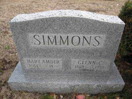 SIMMONS, MARY AMBER - Union County, Ohio | MARY AMBER SIMMONS - Ohio Gravestone Photos
