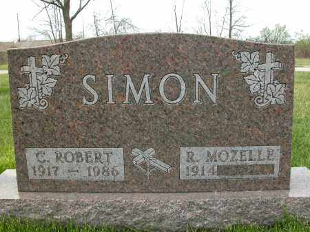 SIMON, C. ROBERT - Union County, Ohio | C. ROBERT SIMON - Ohio Gravestone Photos