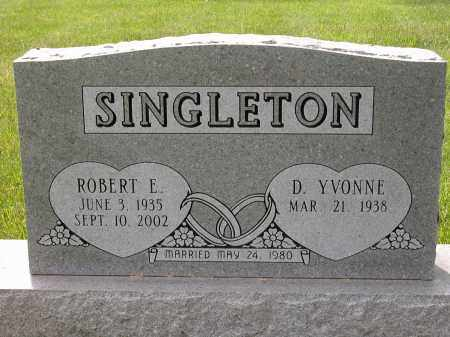 SINGLETON, D. YVONNE - Union County, Ohio | D. YVONNE SINGLETON - Ohio Gravestone Photos