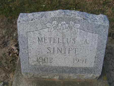 SINIFT, METELLUS A. - Union County, Ohio | METELLUS A. SINIFT - Ohio Gravestone Photos