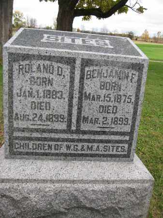 SITES, ROLAND D. - Union County, Ohio | ROLAND D. SITES - Ohio Gravestone Photos