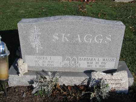 SKAGGS, OBERA J. - Union County, Ohio | OBERA J. SKAGGS - Ohio Gravestone Photos