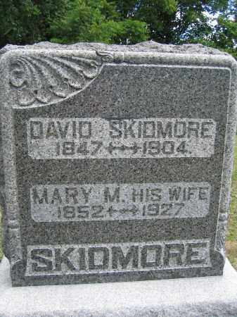 SKIDMORE, DAVID - Union County, Ohio | DAVID SKIDMORE - Ohio Gravestone Photos