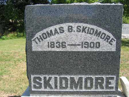SKIDMORE, THOMAS B. - Union County, Ohio | THOMAS B. SKIDMORE - Ohio Gravestone Photos