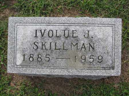 SKILLMAN, IVOLUE J. - Union County, Ohio | IVOLUE J. SKILLMAN - Ohio Gravestone Photos
