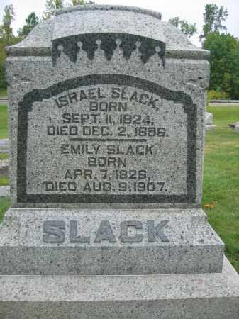 SLACK, EMILY - Union County, Ohio | EMILY SLACK - Ohio Gravestone Photos
