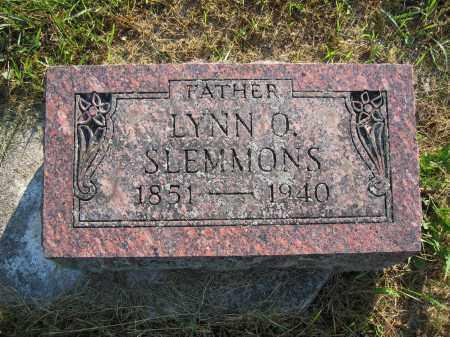 SLEMMONS, LYNN O. - Union County, Ohio | LYNN O. SLEMMONS - Ohio Gravestone Photos