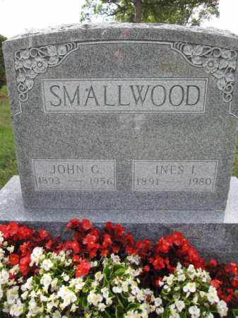 SMALLWOOD, INES I. - Union County, Ohio | INES I. SMALLWOOD - Ohio Gravestone Photos