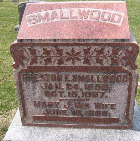 SMALLWOOD, MARY J. - Union County, Ohio | MARY J. SMALLWOOD - Ohio Gravestone Photos