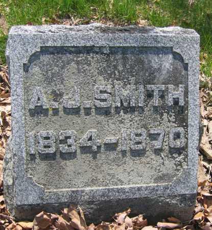 SMITH, A.J. - Union County, Ohio | A.J. SMITH - Ohio Gravestone Photos