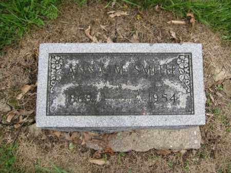 SMITH, ANNA M. - Union County, Ohio | ANNA M. SMITH - Ohio Gravestone Photos