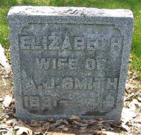 SMITH, ELIZABETH - Union County, Ohio | ELIZABETH SMITH - Ohio Gravestone Photos