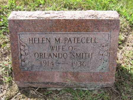 SMITH, HELEN M. PATECELL - Union County, Ohio | HELEN M. PATECELL SMITH - Ohio Gravestone Photos