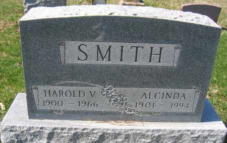 SMITH, HAROLD V. - Union County, Ohio | HAROLD V. SMITH - Ohio Gravestone Photos