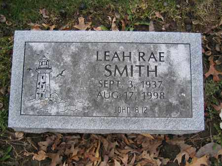 SMITH, LEAH RAE - Union County, Ohio | LEAH RAE SMITH - Ohio Gravestone Photos