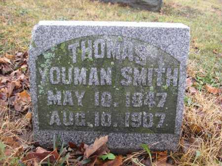 SMITH, THOMAS YOUMAN - Union County, Ohio | THOMAS YOUMAN SMITH - Ohio Gravestone Photos