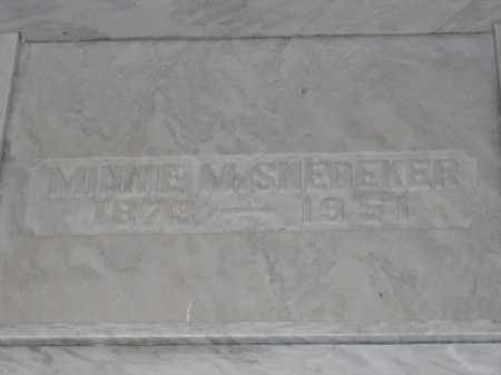 SNEDEKER, MINNIE M. - Union County, Ohio | MINNIE M. SNEDEKER - Ohio Gravestone Photos