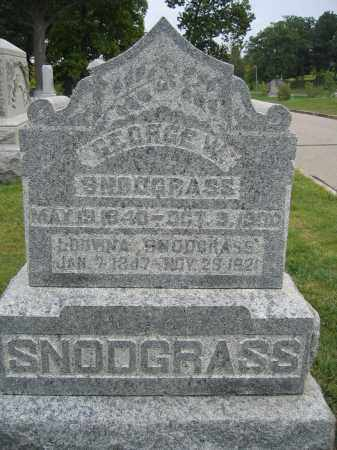 SNODGRASS, GEORGE W. - Union County, Ohio | GEORGE W. SNODGRASS - Ohio Gravestone Photos