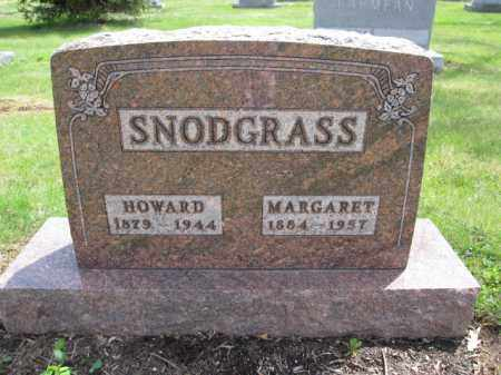 SNODGRASS, MARGARET - Union County, Ohio | MARGARET SNODGRASS - Ohio Gravestone Photos