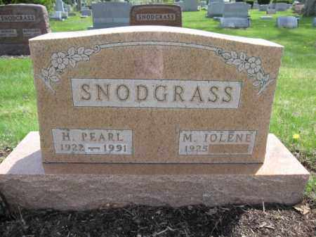 SNODGRASS, M. IOLENE - Union County, Ohio | M. IOLENE SNODGRASS - Ohio Gravestone Photos