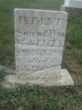 SNODGRASS, INFANT SON - Union County, Ohio | INFANT SON SNODGRASS - Ohio Gravestone Photos
