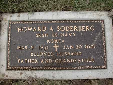 SODERBERG, HOWARD A - Union County, Ohio | HOWARD A SODERBERG - Ohio Gravestone Photos