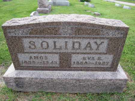 SOLIDAY, EVA ELLEN - Union County, Ohio | EVA ELLEN SOLIDAY - Ohio Gravestone Photos