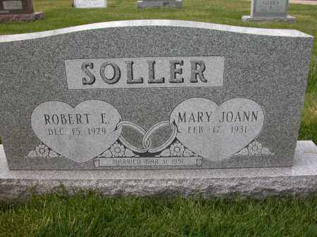SOLLER, MARY JOANN - Union County, Ohio | MARY JOANN SOLLER - Ohio Gravestone Photos