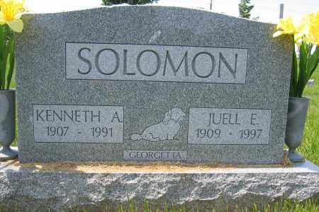 SOLOMON, JUELL E. - Union County, Ohio | JUELL E. SOLOMON - Ohio Gravestone Photos