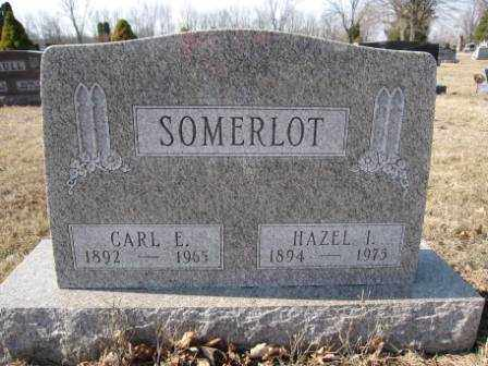 SOMERLOT, HAZEL I. - Union County, Ohio | HAZEL I. SOMERLOT - Ohio Gravestone Photos