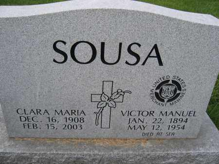 SOUSA, VICTOR MANUEL - Union County, Ohio | VICTOR MANUEL SOUSA - Ohio Gravestone Photos