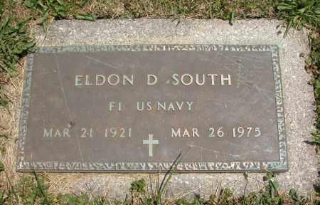 SOUTH, ELDON D. - Union County, Ohio | ELDON D. SOUTH - Ohio Gravestone Photos